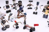 Sparebots Selbst Gemacht aus Elektroschrott DIY Projekt Anleitung