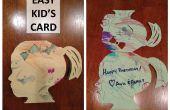 Einfach Kind Handwerk Karte