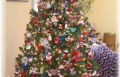 Feiern Weihnachten mit Stricken