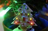 Mini animierte LED-Weihnachtsbaum 32 x 32mm