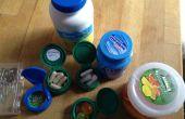 Minibehälter Flasche & Jar Caps
