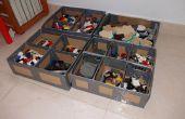 Pappe und Ductape Lego Aufbewahrungsbox - Caja Para Almacenar Lego de Karton y Precinto