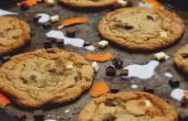 Zähe Cranberry & Orange Chocolate Chunk Cookies