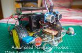Automatische Navigation Roboter mit Gas (MQ-2), Temperatur & Feuchtigkeitssensoren (DHT11)