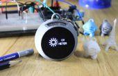 UV-Meter & Alkoholtester Schlüsselanhänger - 3D gedruckt - IoT Blynk