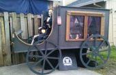 Pferd gezogenen Leichenwagen faltbare