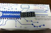 Hausgemachte Uhr mit Arduino
