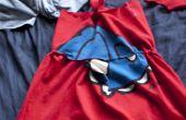 Kleinkind-Empire-Kleid von einem Erwachsenen T-shirt gemacht