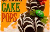 Wie erstelle ich Spinne Cake Pops mit Stegen