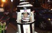 ROCKET MAN: Saturn 5 Rakete Halloween-Kostüm