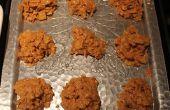 Peanut Butter Cornflake Kekse!