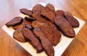Schokolade Pfannkuchen Speck Poppers