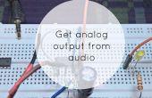 Analog-Ausgang vom Audio-Signal immer