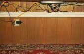 Schreibtisch-Draht und Kabel-Management - gelöst