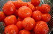 Gewusst wie: Haut Tomaten