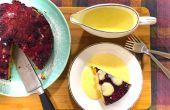 Beere Upside-Down Cake Rezept   How to Make   Kochen mit Benji