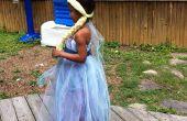 Kleid und Perücke Königin Elsa