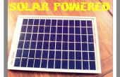 DIY-solarbetriebene Handy Ladegerät
