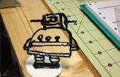 Freihand Instructable 3D-Roboter