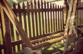 Brennholz-Rack einfach gemacht