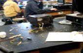 Elektromagnetischen Beschleuniger Experiment + Aluminium-Gießerei