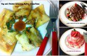 Butter Crepe sortiert / Assorted Butter Dosa