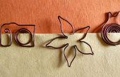 Wie erstelle ich ein Lesezeichen mit Kupferdraht | Zurück zu Schule-Versorgungsmaterialien DIY