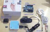 Smart home-Automation-Webserver auf OpenWRT Router WR703N eine Schnittstelle mit Arduino, verglichen mit Raspberry Pi und Ubuntu