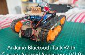 Arduino Bluetooth Tank mit benutzerdefinierten Android-Anwendung (v1. 0)