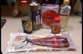 Japanische BBQ Aal - Unagi Hitsumabushi