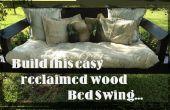 Projekt Snooze: Wie man eine einfache Bett SWING mit ALTHOLZ zu bauen.