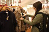 Wie Kleidung oder Gegenstände für sich selbst zu retten, nur, während Sie einkaufen gehen!