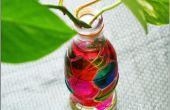 DIY-Cola Flasche Vase