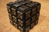 DIY - Zauberwürfel Rubiks Cube - blinder Mann Cube - Metall