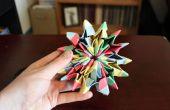 Wie man Origami Feuerwerk