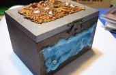 Tutorial-Aufbewahrungsbox Würfeln, inspirierten Fantasy Eis & Feuer