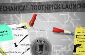 Mechanische Zahnstocher Launcher