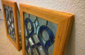 Repurposed Glasmalerei Frames