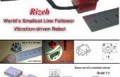 Wie erstelle ich weltweit kleinste Linie Anhänger Roboter (Robo Rizeh)