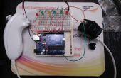 Arduino Wii Nunchuck und Wii Motion plus mit Code aktualisiert für IDE 1.0.2 und LED