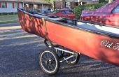 Kanu/Kajak Caddy mod von Jogging Kinderwagen