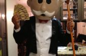 Mr. Monopoly gemacht zu Hause