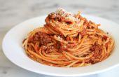 Wie man Spaghetti in ein paar einfachen Schritten machen