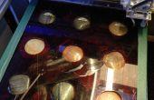 Schnelle Spannvorrichtung für Laser-Radierung Multiple unregelmäßig geformten Objekten (Flusssteine)