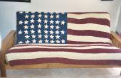 Amerikanische Flagge Decke