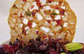 Pistazien-Cranberry Florentiner Cookies