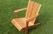 Adirondack Stuhl von einem Board