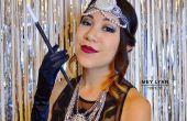 1920er Jahren der große Gatsby inspiriert, Haare & Make-up