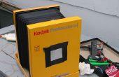 Faltbare Pinhole-Kamera 8 x 10