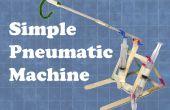 Einfache pneumatische Maschine